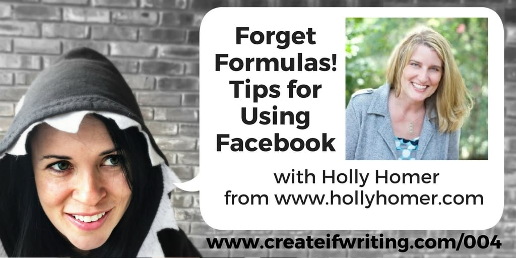 Tips for using Facebook with Holly Homer