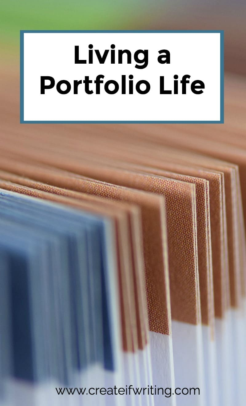 Life is a portfolio, not a series of projects.