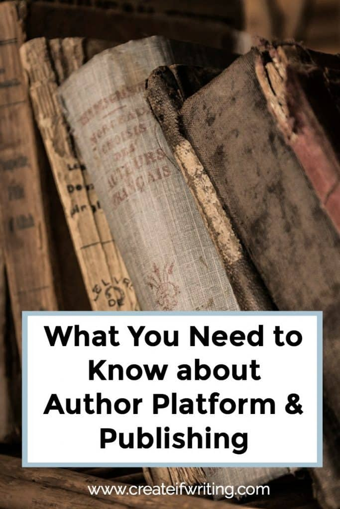 Learn what you need to know about author platform and publishing from Chad R. Allen, who has been in the business for almost 15 years.