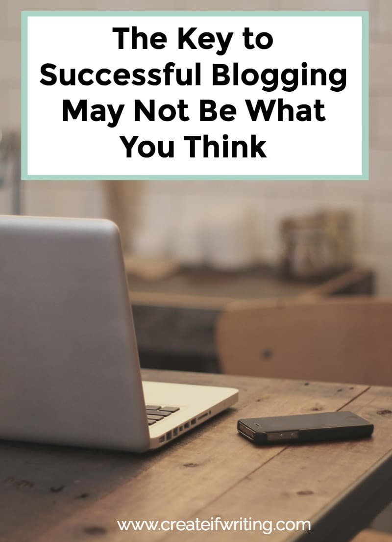 The key to blogging successfully is much simpler than you might think.