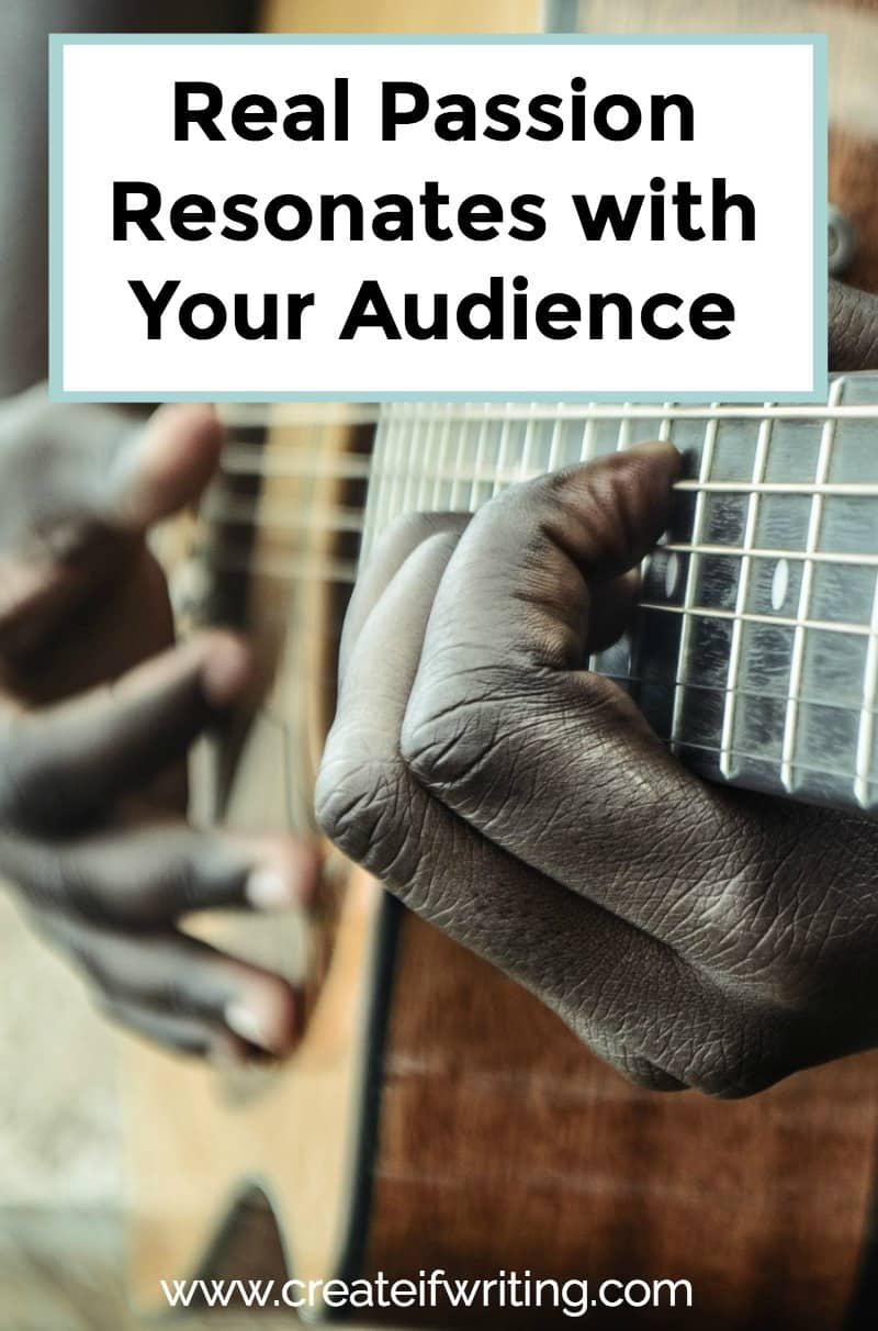 Real passion resonates with your audience and makes you stand out from all the other voices.