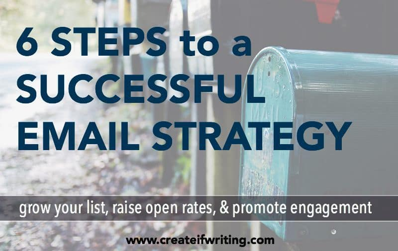 6 Steps to a Successful Email Strategy