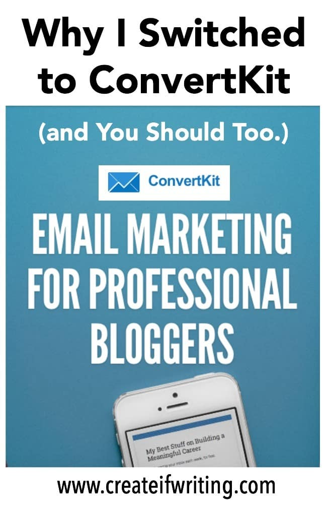 ConvertKit is THE email service provider to use. The ease of Mailchimp with advanced features like tagging & automation. With a fantastic affiliate program, you could get paid for using email.