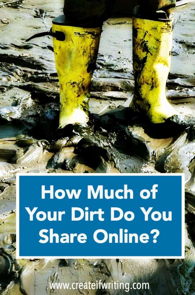 You get to decide how much you share online, but integrity is your greatest currency.