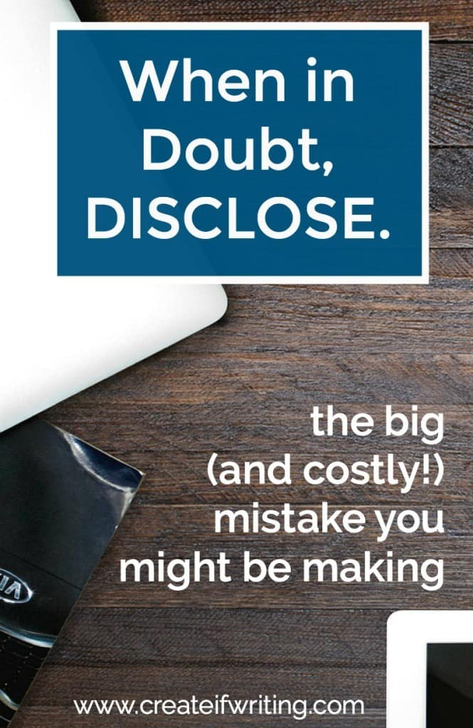 Are you violating the FTC's disclosure policy? The one big mistake a lot of bloggers are making.