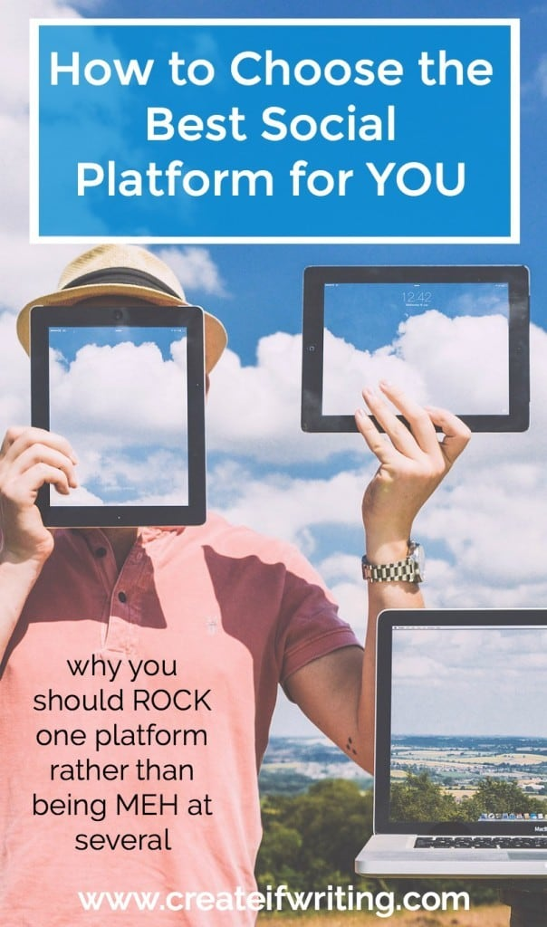 With so many platforms, it can be overwhelming to keep up. This interview with Amy Schmittauer will help you think about how to find the best social media platform for YOU.