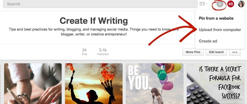 Want to know two easy ways to hide a vertical image in Pinterest?