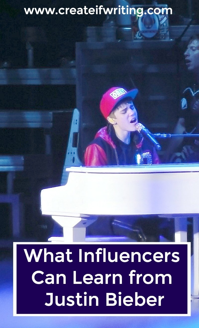 What can influencers, writers, and bloggers learn from Justin Bieber's latest album? A few really key things, as it turns out.