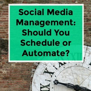 Social Media Scheduling vs Automation