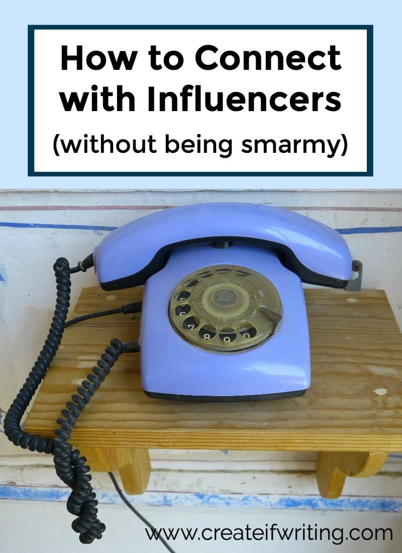 Want to connect with influencers? Here is a great blueprint for reaching out to influencers without being icky. Plus reminders about why we shouldn't JUST try to connect with people that have a larger audience!