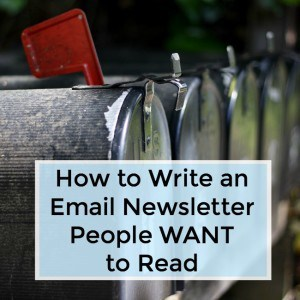 How to Write an Email Newsletter People Want to Read -042