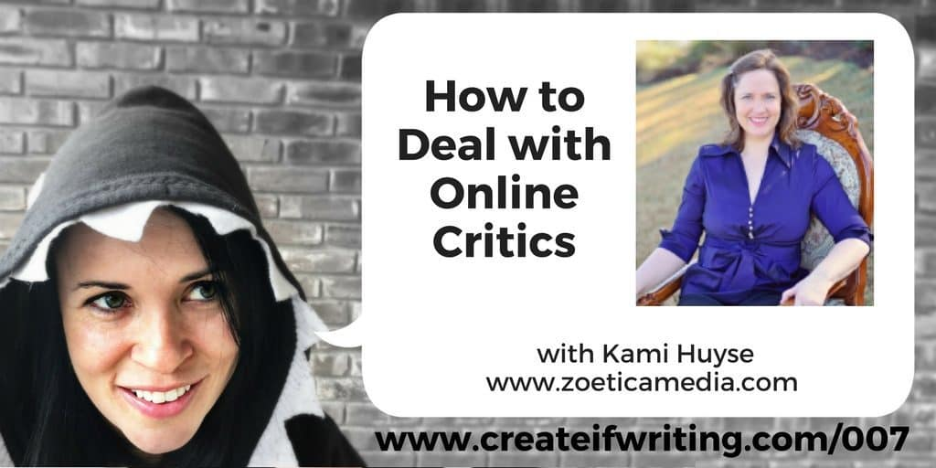 How to Deal with Critics - interview with Kami Huyse