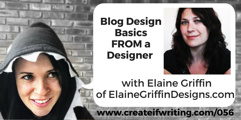 interview with elaine griffin on blog design basics