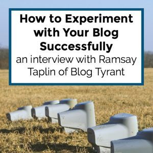 How to Experiment with Your Blog Successfully – 054
