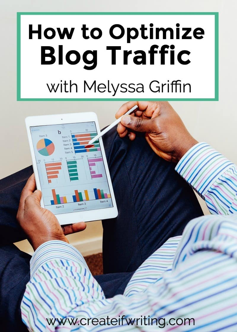 Do you have a strategy for how to optimize blog traffic? Get actionable tips from Melyssa Griffin.