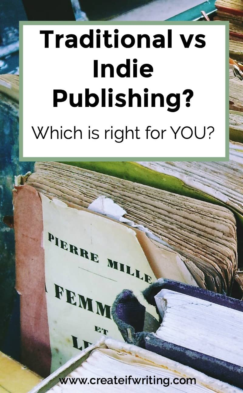 How do you decide between traditional and indie publishing? Some thoughts from industry expert Jane Friedman.