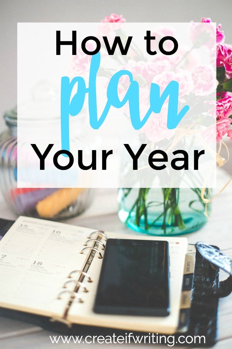 Need resources and tips for how to plan your year? A three-step plan and some freebies!