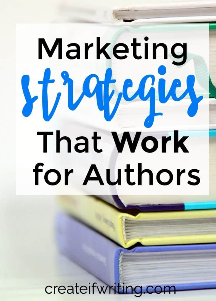 These book marketing strategies come straight from an author and marketing expert!