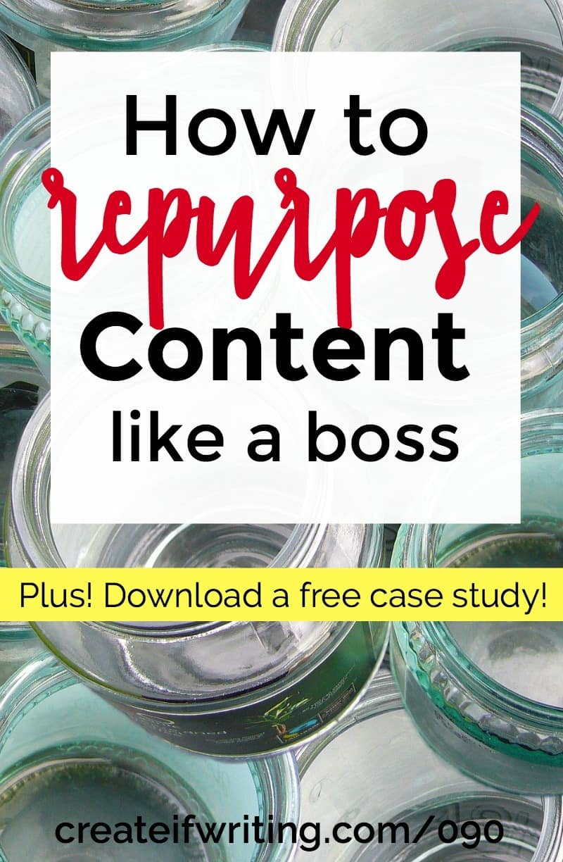 Tips for repurposing content to increase subscribers and grow your sales!