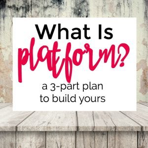 What Is Platform and How Do You Build It?