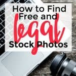 How to Find Free and Legal Images for Your Blog