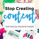 Stop Creating Content! – 096