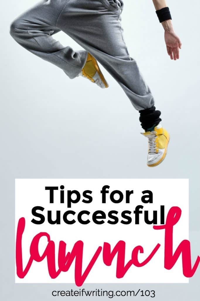 Learn practical tips for a successful launch with Jenny Melrose.