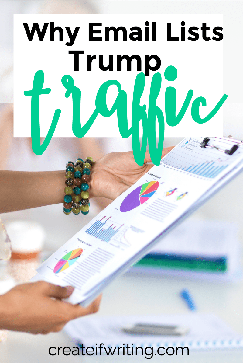 Email list > Traffic. Every time. Learn why you may need to shift your mindset!