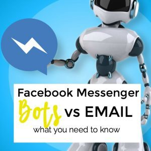 Are Facebook Messenger Bots Replacing Email?