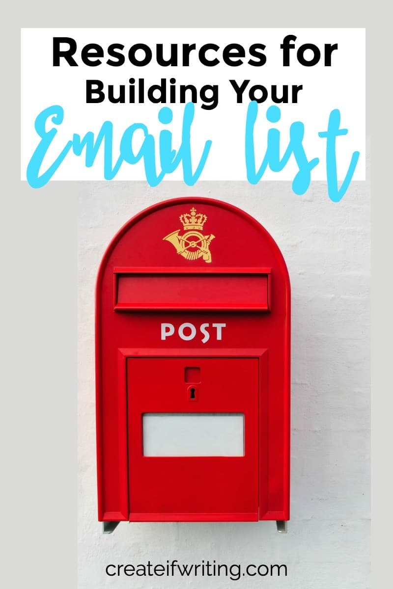 This roundup of resources for building your email list will help you get started or start to see RESULTS from your list!