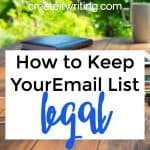 How to Keep Your Email List Legal