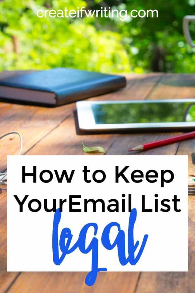 Learn how to keep your email list legal so you don't end up getting in trouble with the FTC! Plus tips for best practices based on these laws.