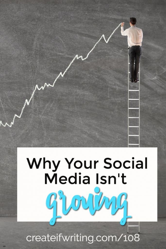 Can't seem to grow? These four reasons share why your social media isn't growing and what you can do about it.