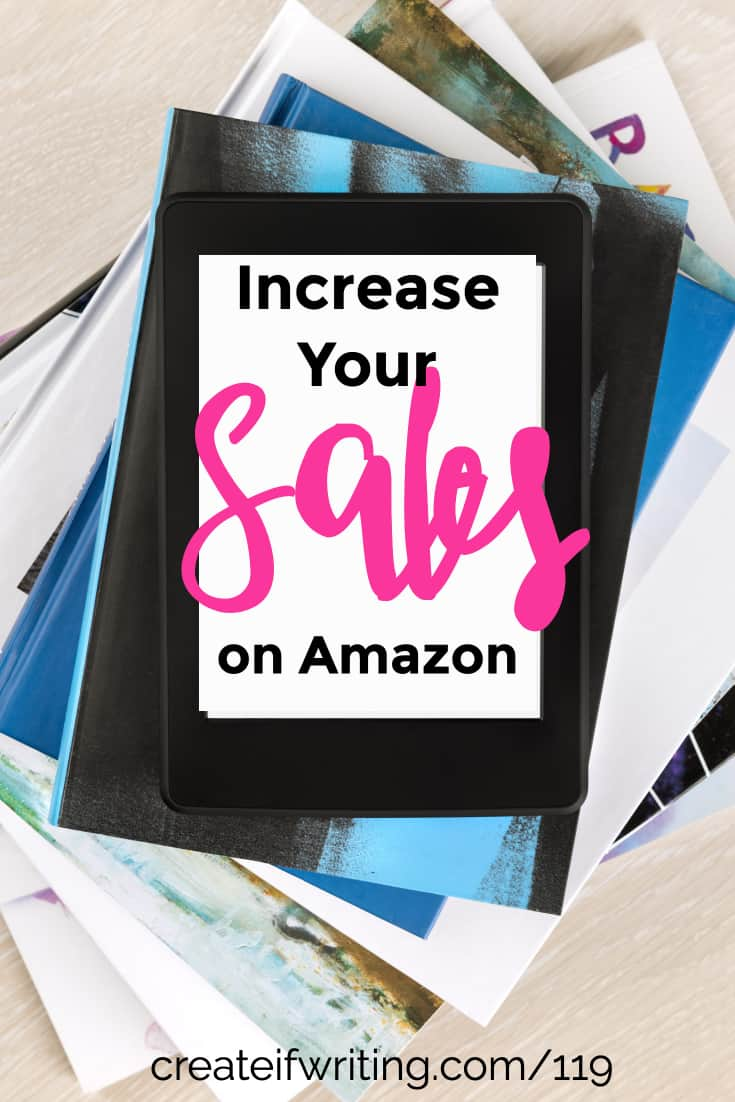 Learn to increase your sales rank on Amazon and sell more books!