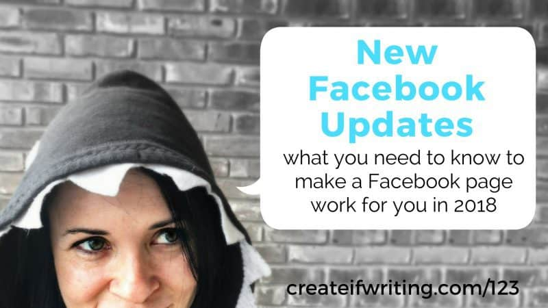 The new Facebook Update - what you need to know to make a Facebook page work in 2018.