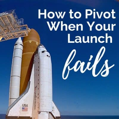 Pivoting When Your Launch Is Failing