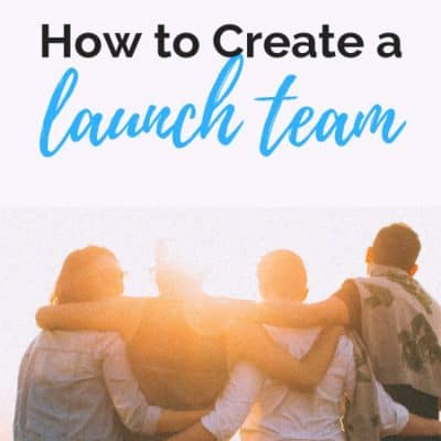 Creating a Launch Team for Your Book