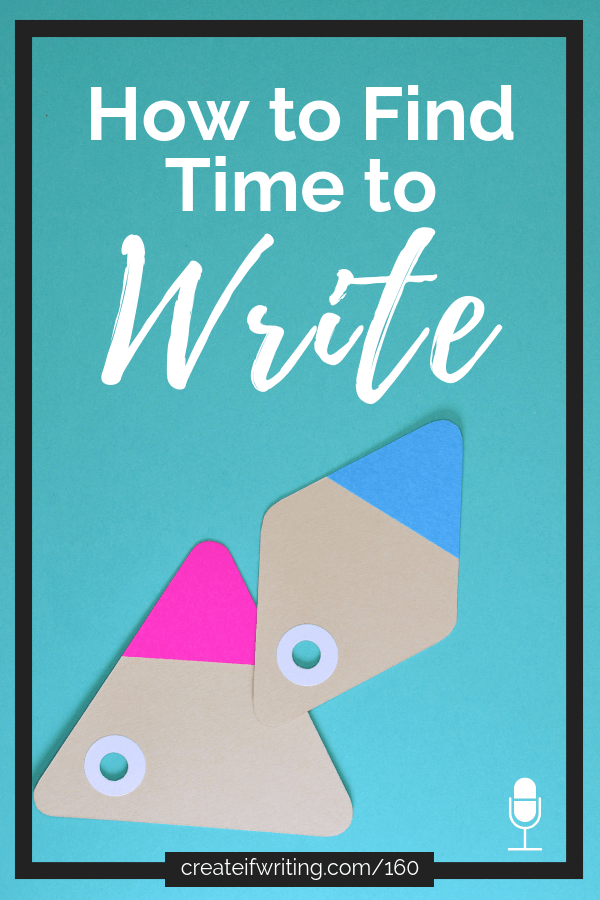 Tips for how to find time to write from a novelist with five small children--learn what works for YOU!