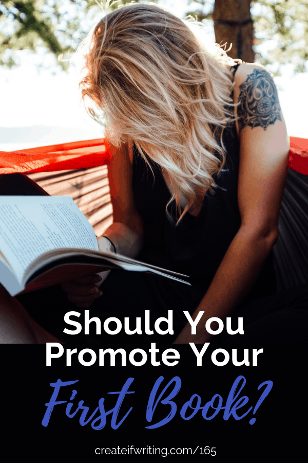 Should you promote your first book? Look at how this might differ in both fiction and nonfiction.
