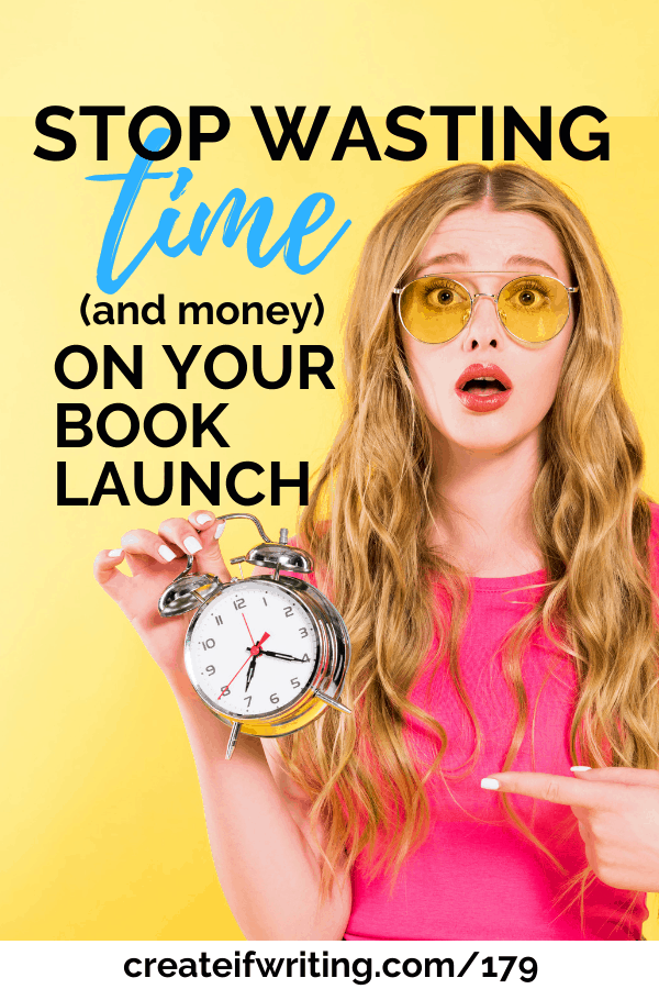 Learn how to stop wasting time and money on your book launches
