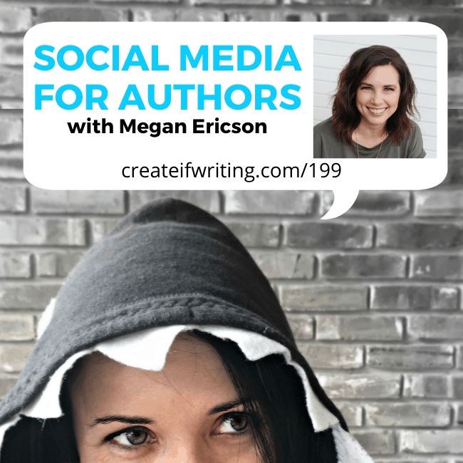 image with megan ericson for the create if writing podcast