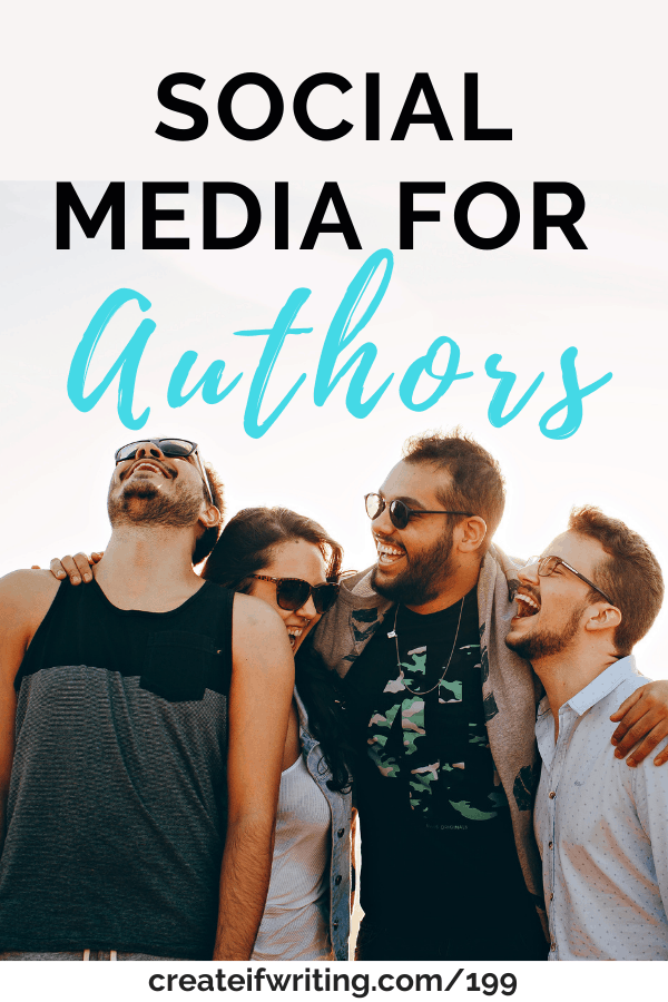 graphic social media for authors